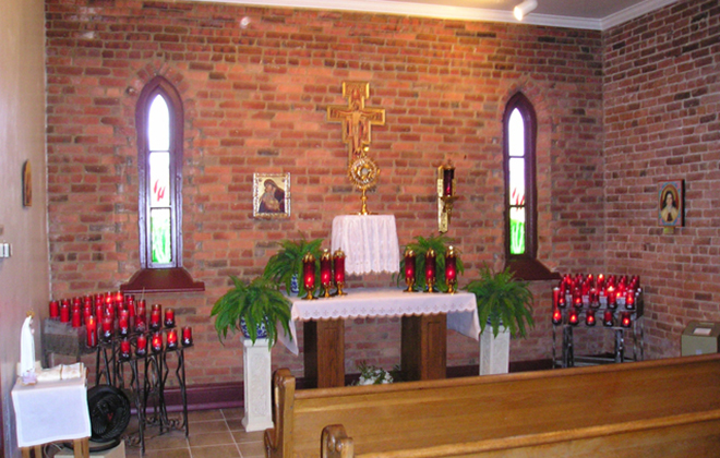Adoration of the Blessed Sacrament is an integral part of the spiritual life of St. Francis Parish.